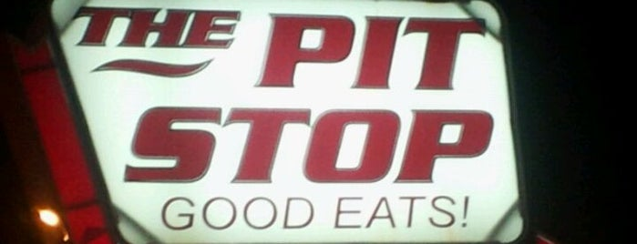 The Pit Stop is one of Diners, Drive-Ins & Dives.