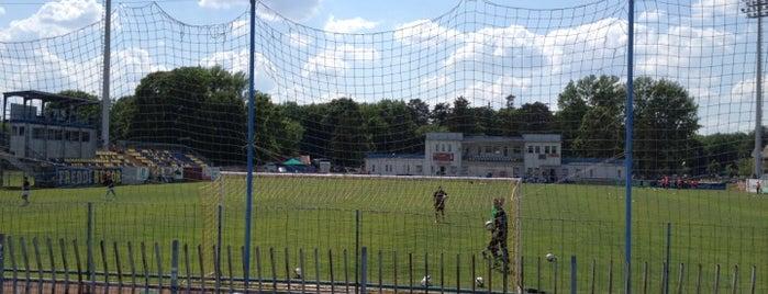 Perutz Stadion is one of Stadionok.