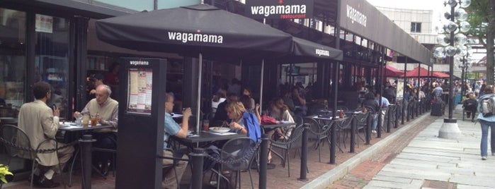 Wagamama is one of Places to try, Boston.