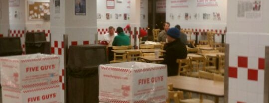 Five Guys is one of Chicago Eats.