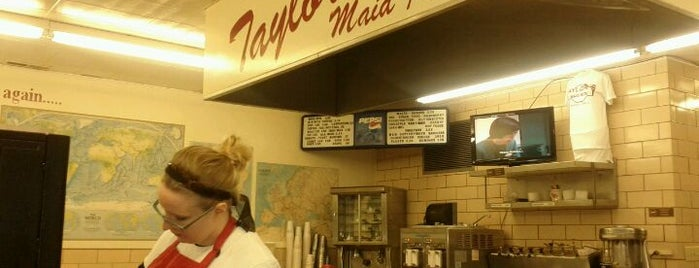 Taylor's Maid-Rite is one of Maid-Rite Locations.