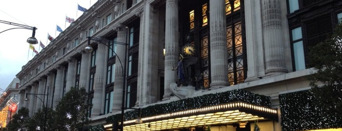 Selfridges & Co is one of The Fashionista's Guide to London, UK.