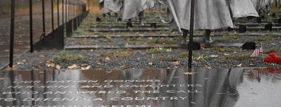 Korean War Veterans Memorial is one of National Mall Tour.