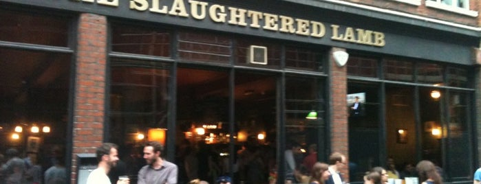 The Slaughtered Lamb is one of Top picks for Bars.