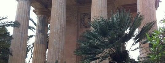Lower Barrakka Gardens is one of Malta Cultural Spots.
