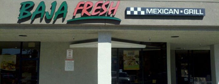 Baja Fresh is one of Must-visit Food in Simi Valley.