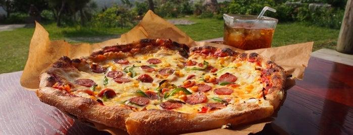 花人逢 Pizza in the Sky is one of 美味しいもの.