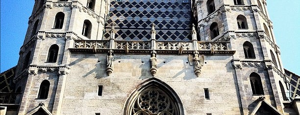St. Stephen's Cathedral is one of 04 Vienna.
