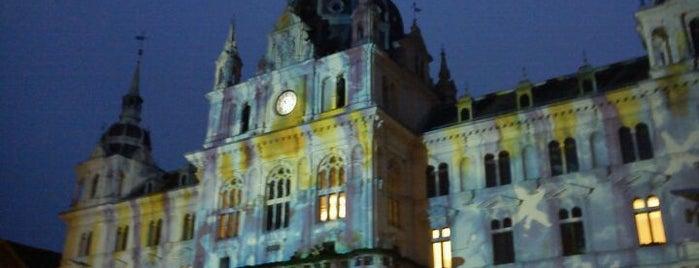 Franziskanerplatz is one of Springfestival/Graz-Trip 2012.