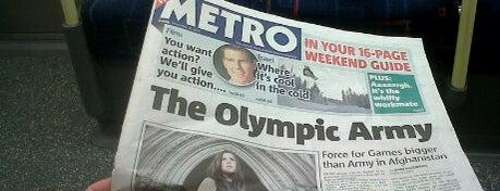 Burnt Oak London Underground Station is one of Summer in London/été à Londres.