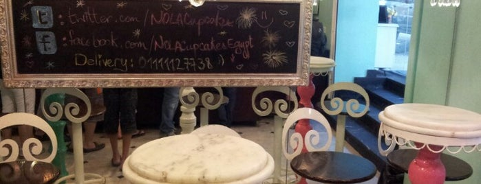 NOLA Cupcakes is one of Cairo's Best Spots & Must Do's!.