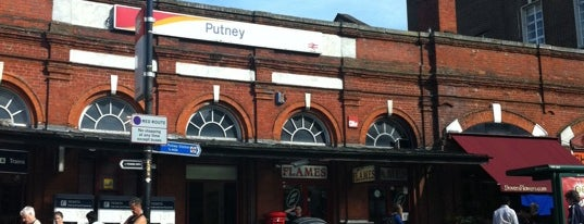 Putney Railway Station (PUT) is one of Railway Stations in UK.