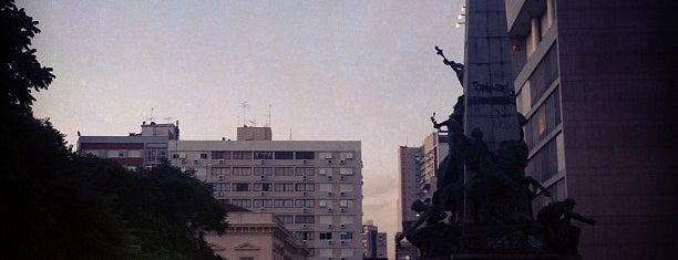 Praça da Matriz is one of Ilustres e desconhecidos cantos de Porto Alegre.