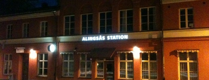 Alingsås Station is one of Tågstationer - Sverige.