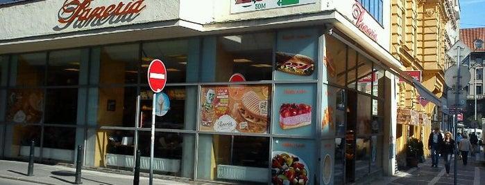 Paneria is one of Free WiFi kavárny v Praze.