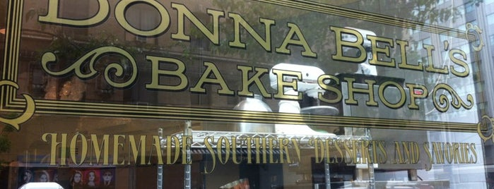 Donna Bell's Bakeshop is one of Baker's Dozen - New York Venues.