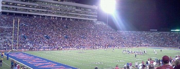 Memorial Stadium is one of Mayors.