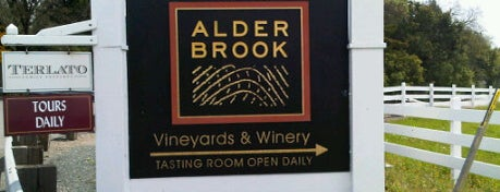 Alderbrook Winery is one of Wine Road Picnicking- al Fresco Perfetto!.