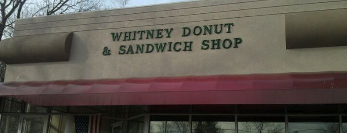 Whitney Donut Shop is one of donuts.