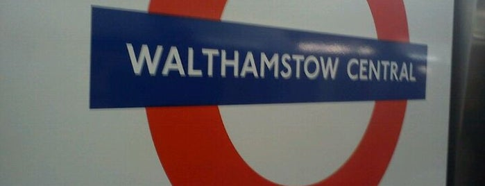 Walthamstow Central London Underground Station is one of My United Kingdom Trip'09.