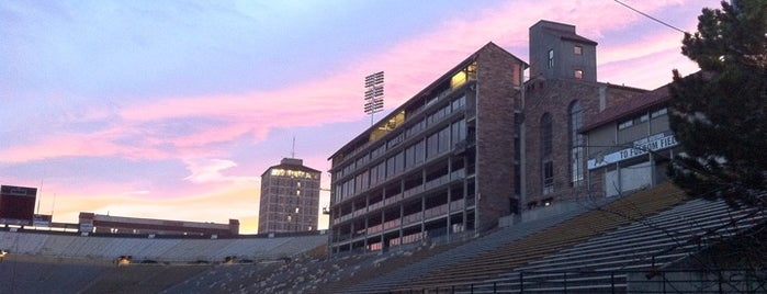 Folsom Field is one of Pac-12 Football.