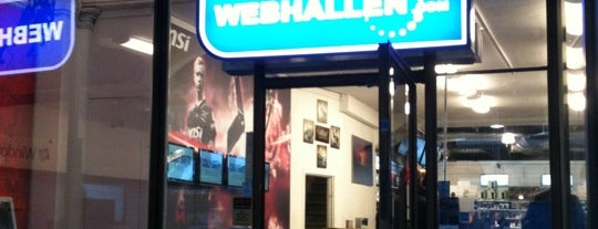 Webhallen is one of Worlds Coolest Gadget Shops.