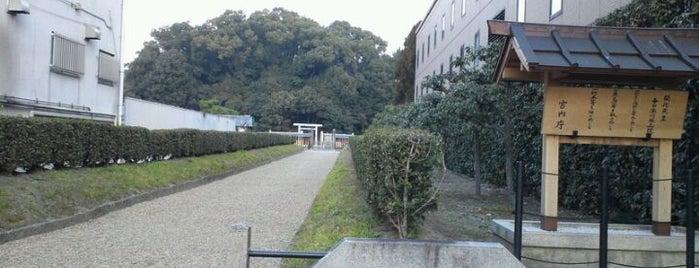 開化天皇 春日率川坂上陵 (念仏寺山古墳) is one of 天皇陵.