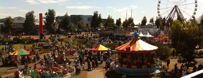 Melbourne Showgrounds is one of Quintessential Melbourne.