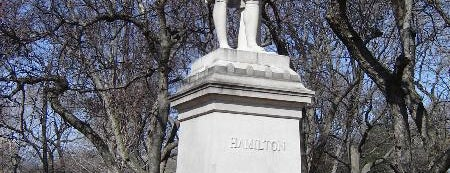 Alexander Hamilton Statue is one of Want to visit.
