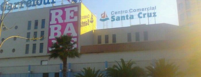 Centro Comercial Santa Cruz is one of Para comer ......