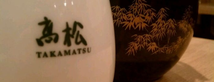 Takamatsu Restaurant is one of Fave Foodies.