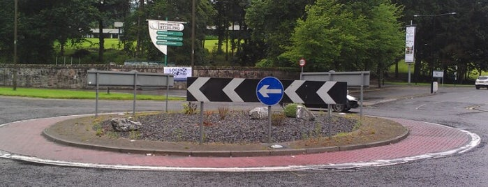 Airthrey Roundabout is one of Named Roundabouts in Central Scotland.