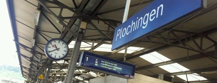 Bahnhof Plochingen is one of Ausgewählte Bahnhöfe.