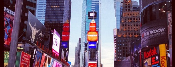 Times Square is one of The Crowe Footsteps.