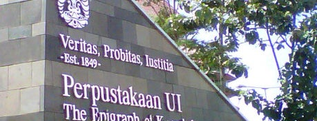 Perpustakaan Universitas Indonesia - Crystal of Knowledge is one of Inspired locations of learning.
