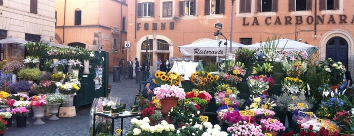 Campo de' Fiori is one of Italy - Summer 2012.