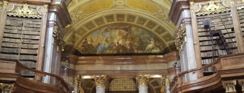 Prunksaal der Nationalbibliothek is one of My Wien.
