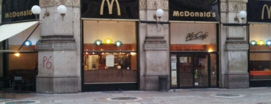 McDonald's is one of Locali.