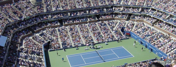 Arthur Ashe Stadium - USTA Billie Jean King National Tennis Center is one of Coolest Things!.