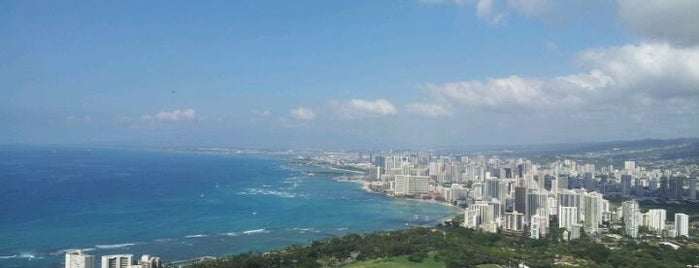 Diamond Head State Monument is one of Hawaii List.