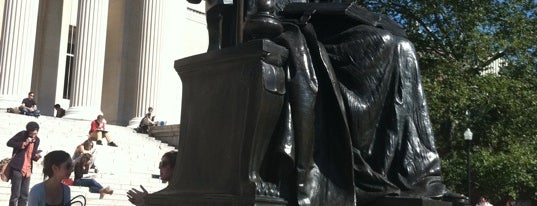 Alma Mater Statue is one of Want to visit.