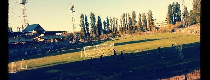 BVSC Stadion is one of Stadionok.