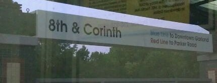 8th & Corinth Station (DART Rail) is one of DART Blue Line.