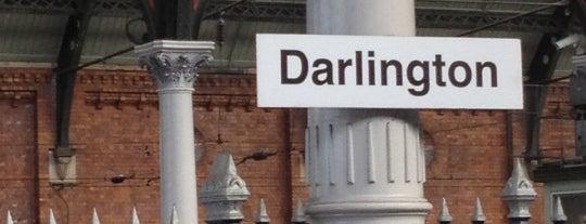 Darlington Railway Station (DAR) is one of Summer in London/été à Londres.