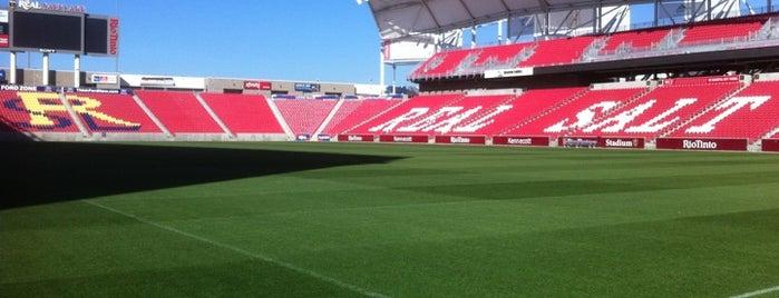 Rio Tinto Stadium is one of Top 10 favorites places in Salt Lake City, UT.