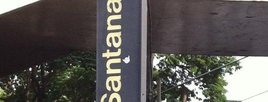 Estação Santana (Metrô) is one of Metro Sp.