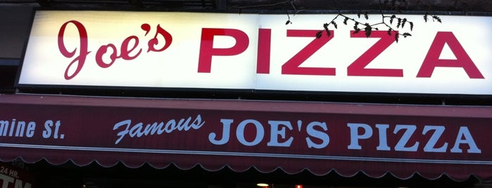 Joe's Pizza is one of Greenwich and West Village-ish Walking Tour.