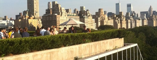 Iris & B Gerald Cantor Roof Garden is one of NYC Bars With Outdoor Areas.