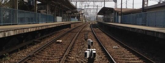 笠縫駅 (Kasanui Sta.) is one of 近鉄橿原線.