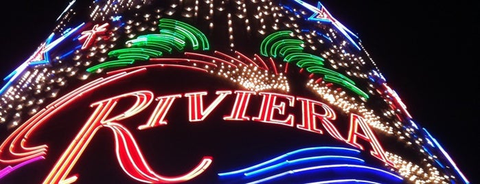 Riviera Hotel & Casino is one of Favorites.